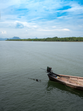 Fishing boat in Thailand, Asia