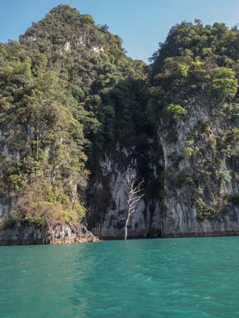 Boat trip to Khao Sok National Park, Thailand