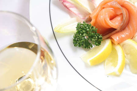 kipper: Kipper in slices with wine