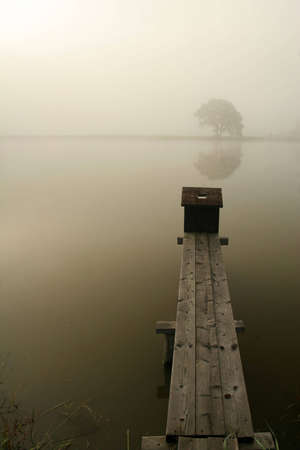 mistic: Fog on the lake