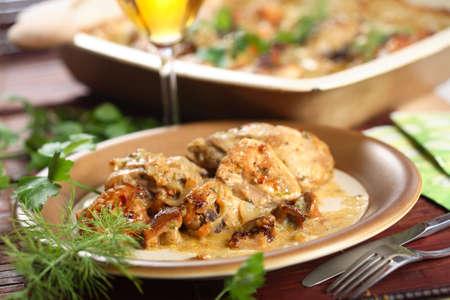 stewed: Stewed chicken