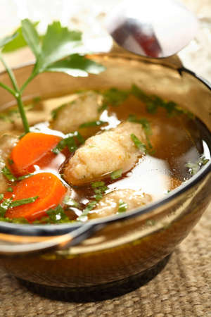 european cuisine: Noodles made from pike