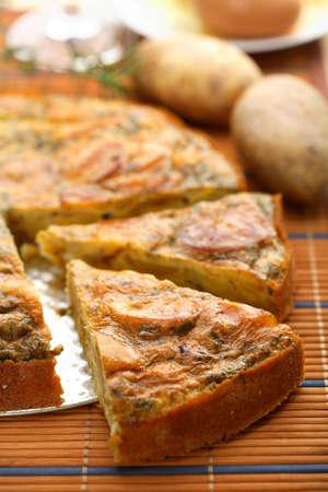Potato casserole photo