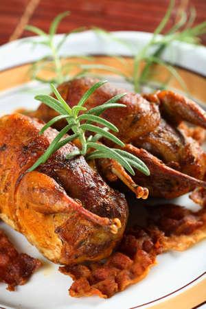 albumen: Partridge meat
