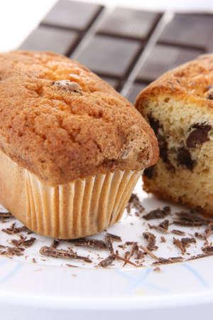 caloric: Cake with chocolate