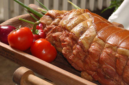 alimentary: Smoked meat