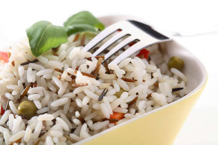 Rice with green peas Stock Photo - 3578186