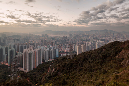 highriser: Kong Overview from the mountains to Kong Overview from the mountains down to the sea townhouses
