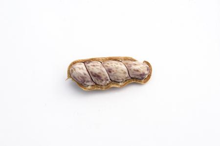 nutshell: peanuts in nutshell Stock Photo