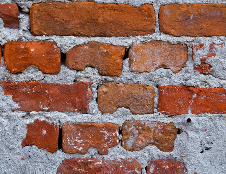 Old brick wall,Texture or background  photo