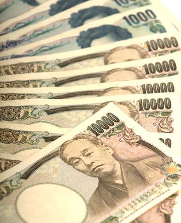 yen sign: 10000 Japanese Yen Note