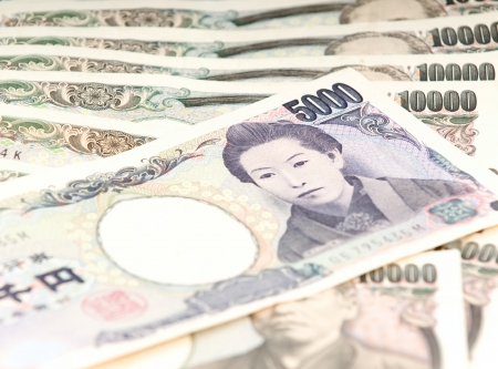 japanese yen: 5000 Japanese Yen Note
