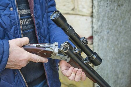 Carbine with optical sight