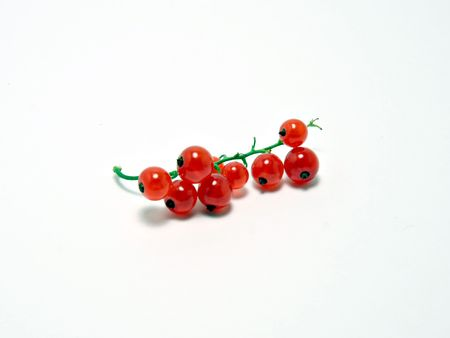 Fresh red current berries