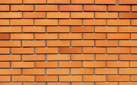 Background or texture of orange brick wall 版權商用圖片