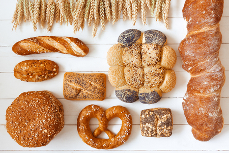 Various, traditional breads Banque d'images