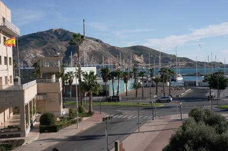 Bay and Hills of Cartagena