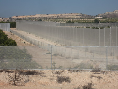 agricultural boundary fencing