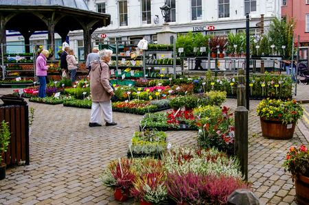 Market day in North Walsham Foto de archivo - 120678281