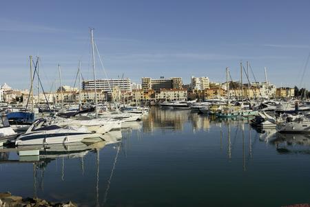 Marina de Vilamoura Foto de archivo - 121303786