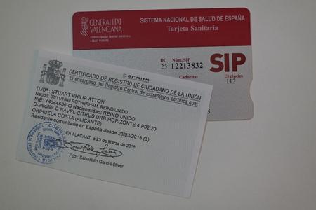 SIP Card and Residencia Foto de archivo - 121304137