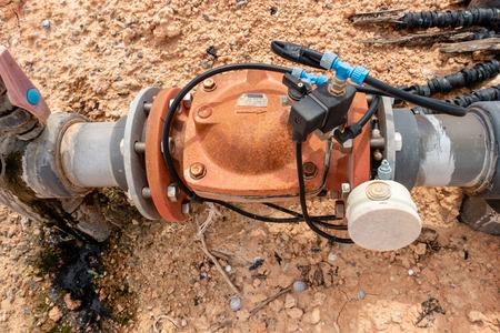 Irrigation Water Pump Foto de archivo - 123440164