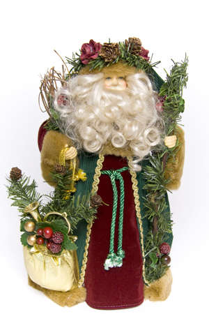 wooly: Traditional father christmas doll decoration