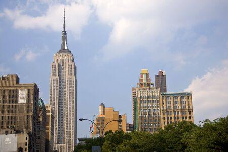 empire state building: Empire State Building skyscraper in Manahattan New York City