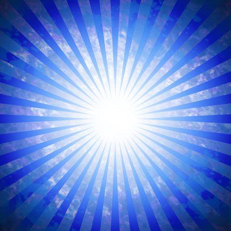 Vivid blue background pattern