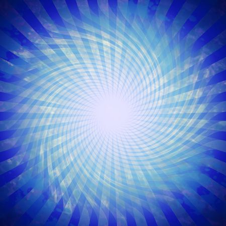 Vivid blue twirl background pattern