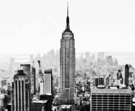 imperium: New York City skyline overdag