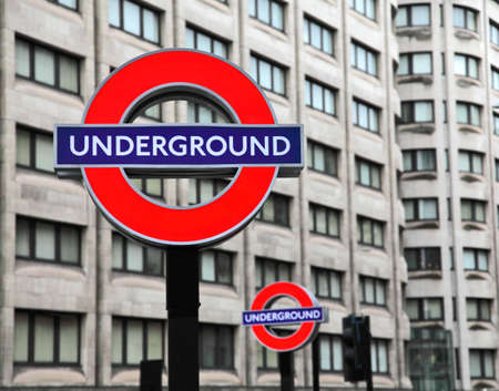 LONDON - JULY 29: Transport for London announced that the Underground logo will also be used for other transportation systems in London on July 29, 2009.