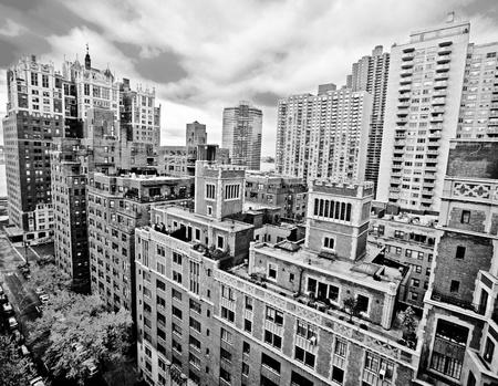 伝統的な赤レンガ アパート マンハッタン ニューヨーク