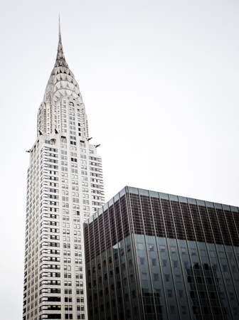 NEW YORK - DEC 28: Chrysler building facade closeup, was the world's tallest building (319 m) before it was surpassed by the Empire State Building in 1931, on December 28, 2011 in Manhattan, New York.  Stock Photo - 12160341