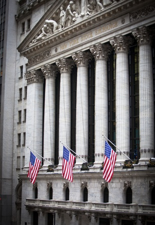 NEW YORK CITY - DECEMBER 27: The New york Stock Exchange December 27, 2011 in New York, NY. It is the largest exchange in the world by market capitalization. Stock Photo - 12160374