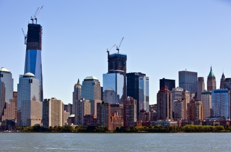 Lower Manhattan and New York financial district