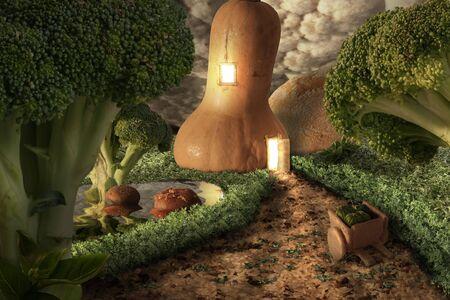 Fantasy world of food