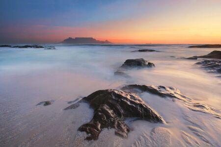 Table Mountain in last light