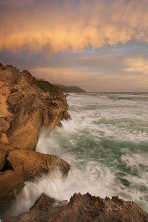 Brenton-on-sea in good light Standard-Bild