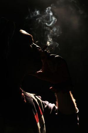 Smoking boxer