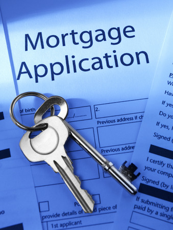 Mortgage Application to go photo