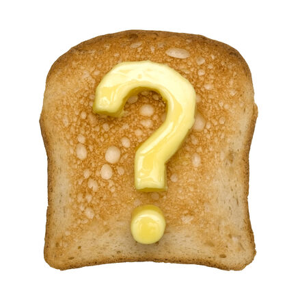Toast and Question mark