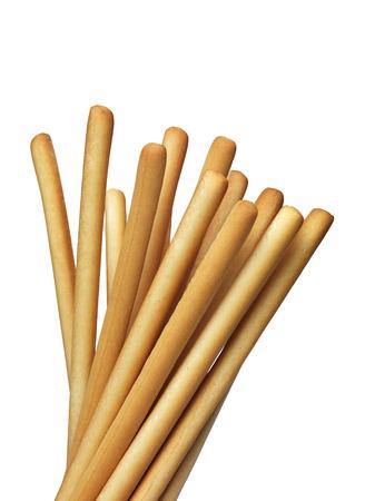 breadstick: Breadstick on white
