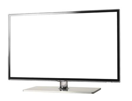 hidef: HI-Def 4d Television Stock Photo
