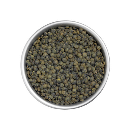 green lentil: Green Lentil from above