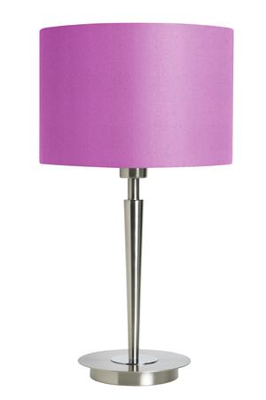 lampekap: Roze lampenkap geïsoleerd op wit