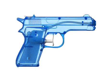 water gun: Blue Water Pistol