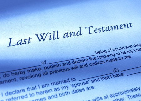 inherit: Last Will and Testament