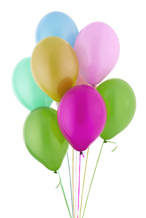 medium group of objects: Helium Balloons