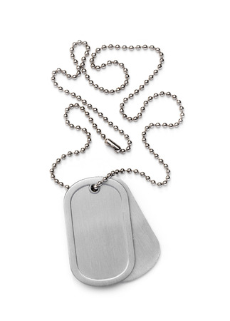 Isolated Dog Tag photo
